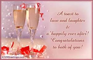 Marriage Congratulation Message - Bing Images