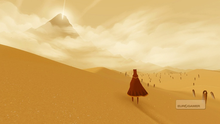 Journey is one of the rare transcendental games that gives you something else than gore and violence. I haven't devoured a game so fast in a long time, and I'm glad this little jewel showed up. It washed my soul and my digital sins. :)