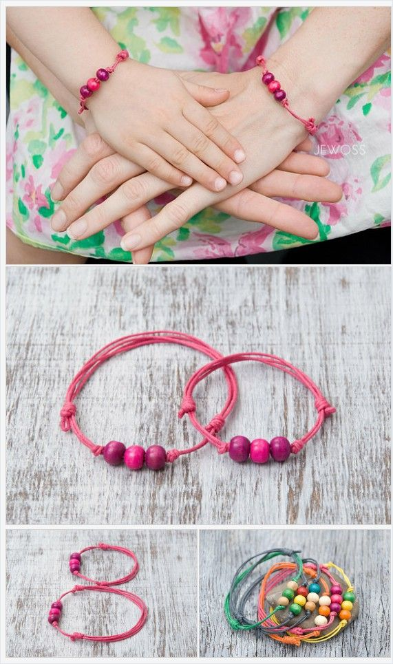 Pink string bracelet Make a wish Mom daughter bracelets set Party gift favors Pink thread bracelet Friendship bracelet Gift for daughter https://www.etsy.com/Jewoss/listing/264788234/pink-string-bracelet-make-a-wish-mom?ref=shop_home_active_1