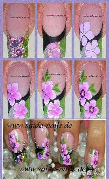 Saida Nails tutorial