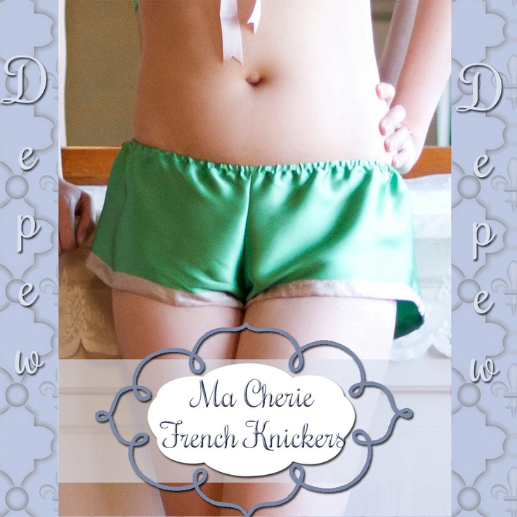 Lingerie Sewing Pattern Ladies' Ma Cherie French Knickers Depew 2018 Digital PDF Print at Home Pattern -INSTANT DOWNLOAD-. $8,50, via Etsy.
