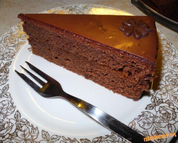 Výborná a jednoduchá Sacherova torta