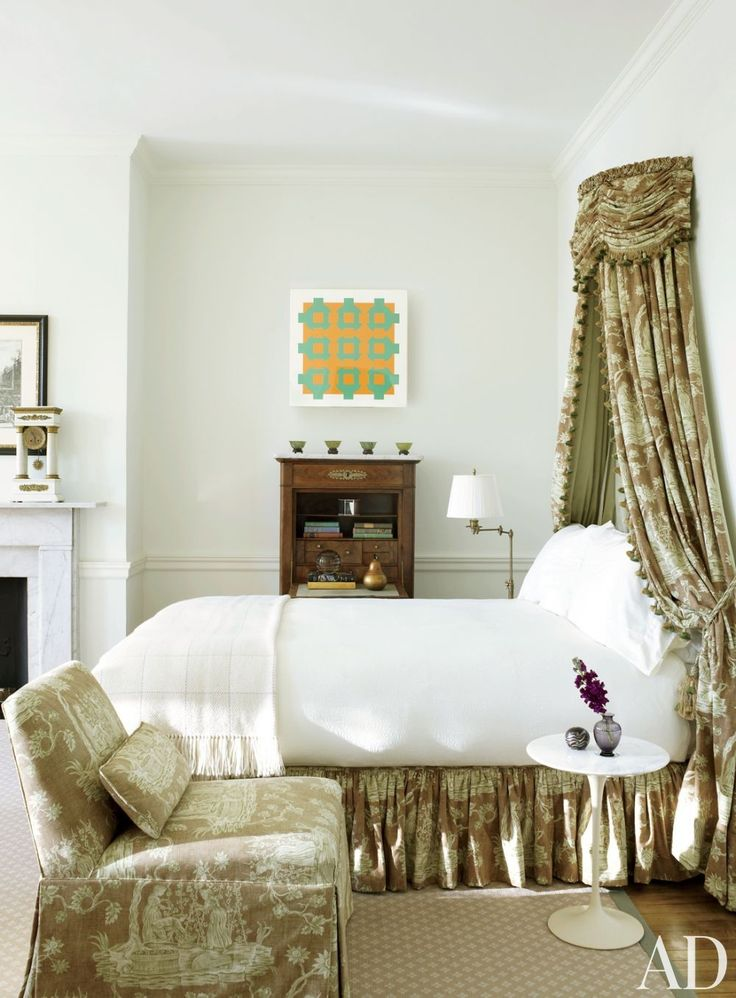 Thomas Jayne ~ In A Bedroom Of This Philadelphia Townhouse Decorated By  Thomas Jayne Studio,