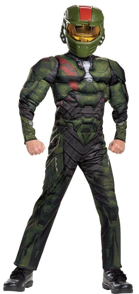 Costumes! Halo Nation Spartan Jerome Costume Set Child Thru Teen Sizes #DG #MuscleCheastCostume