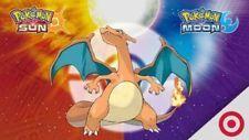 Charizard Secret Code - Free Digital Delivery Target exclusive Pokemon Sun/Moon http://ift.tt/2yOObCF