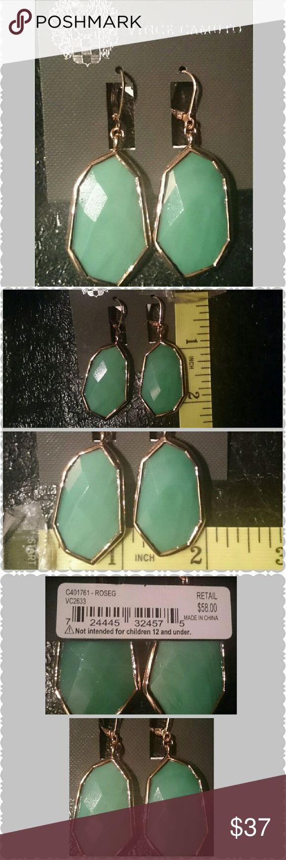 BE THE SCENERY EARRINGS SOFT POWER Sold out At 58.00 Enjoy the Timeless fashion of Vince Camuto earrings Yes, from the morning business meeting through dinner and Dancing a quick Fashion Statement that creates the You that You want People to Remember Vince Camuto Jewelry Earrings