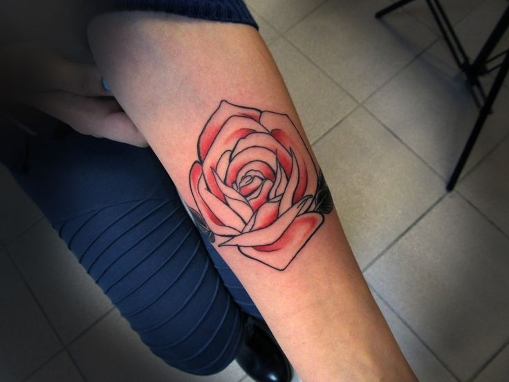 #tattoo #tattooartist #rose #rosetattoo #color #ink #inked #studio #bardo #studiobardo