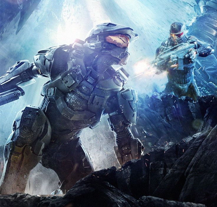 Halo 4 Vs Crysis 3