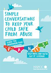 Learn the Underwear Rule: a guide to keep children safe from abuse. Our NSPCC advice to help parents have simple conversations with their children about staying safe: http://www.nspcc.org.uk/preventing-abuse/keeping-children-safe/underwear-rule/