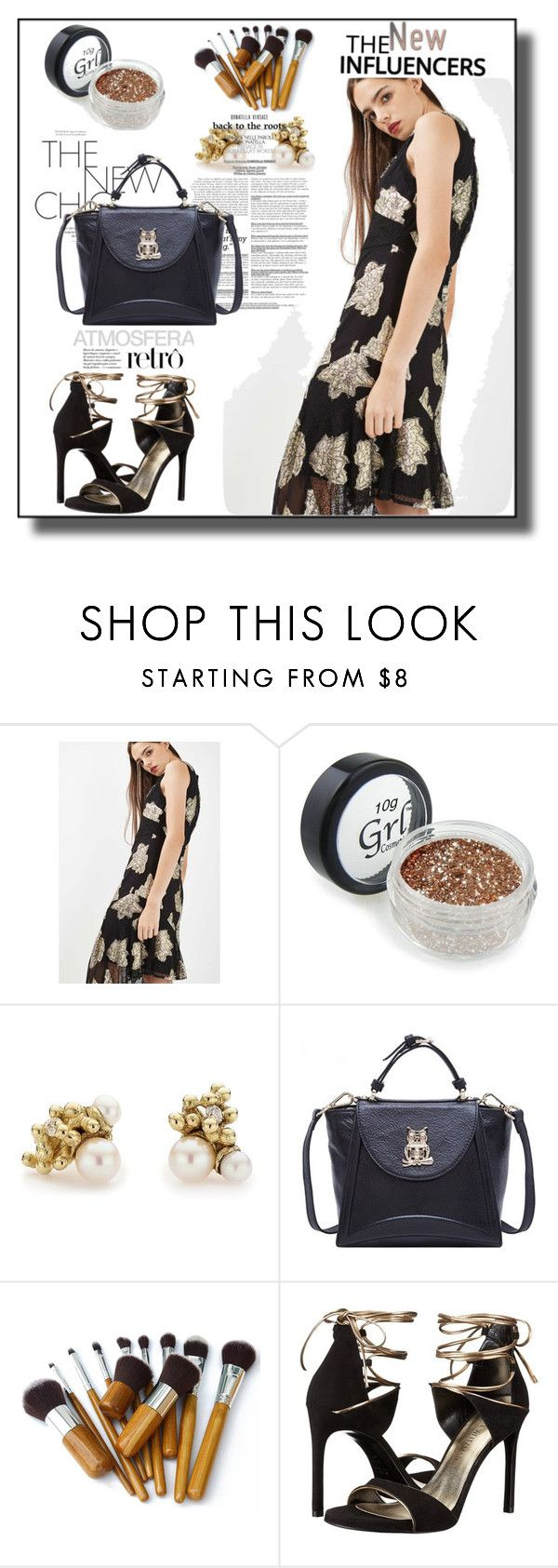 """""""Elegant Lady~"""" by amy0527 ❤ liked on Polyvore featuring Topshop, Ruth Tomlinson and Stuart Weitzman"""