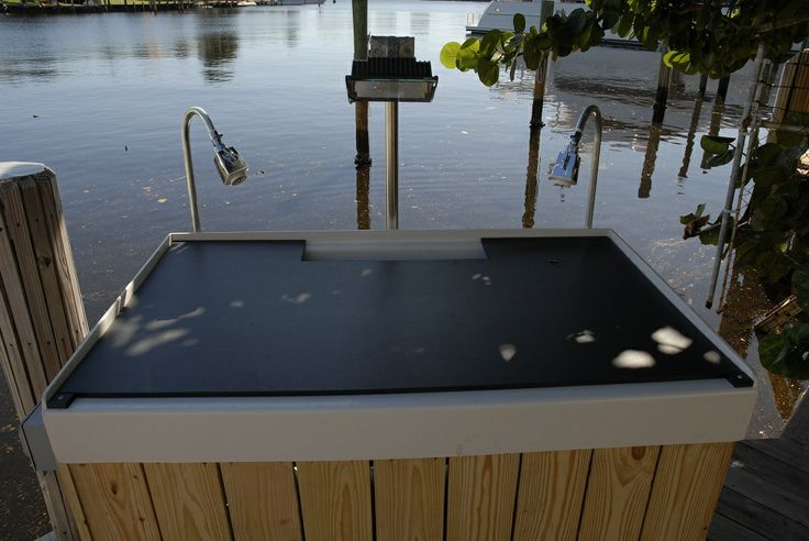 1000 images about fish cleaning table ideas on pinterest for Homemade fish cleaning table