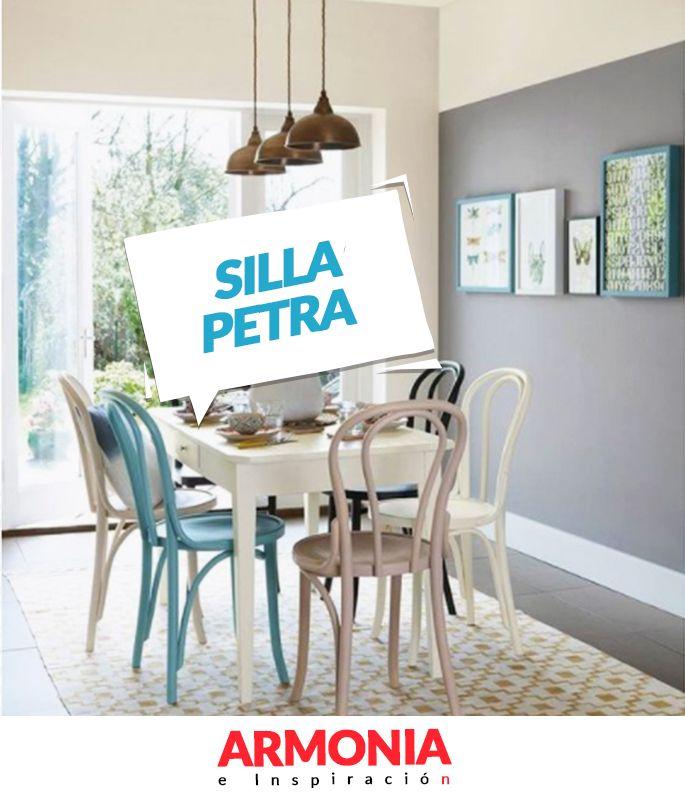 ¡La mezcla atrevida de colores y texturas transforma espacios! Pintar la casa de un solo color ya es historia, ahora puedes combinar de muchos colores tus paredes con los colores de nuestra silla Petra. 💕