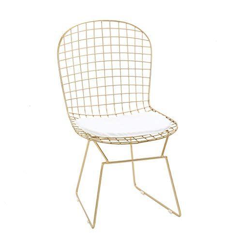 Sundsvall Stackable Cartier Gold Steel Side Chair Set Of 4 Mit Bildern Gold Stuhle Metallstuhle Design
