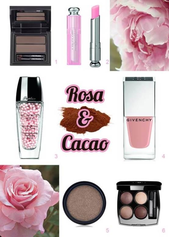 Rosa & Cacao: beauty mix dal nostro blog