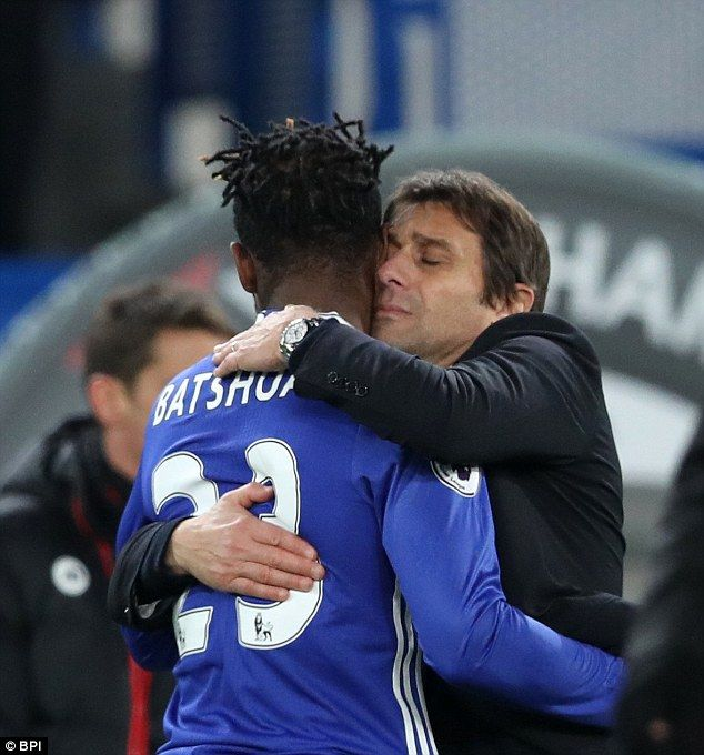 The Italian takes care with those players on the fringes of his team, like Michy Batshuayi