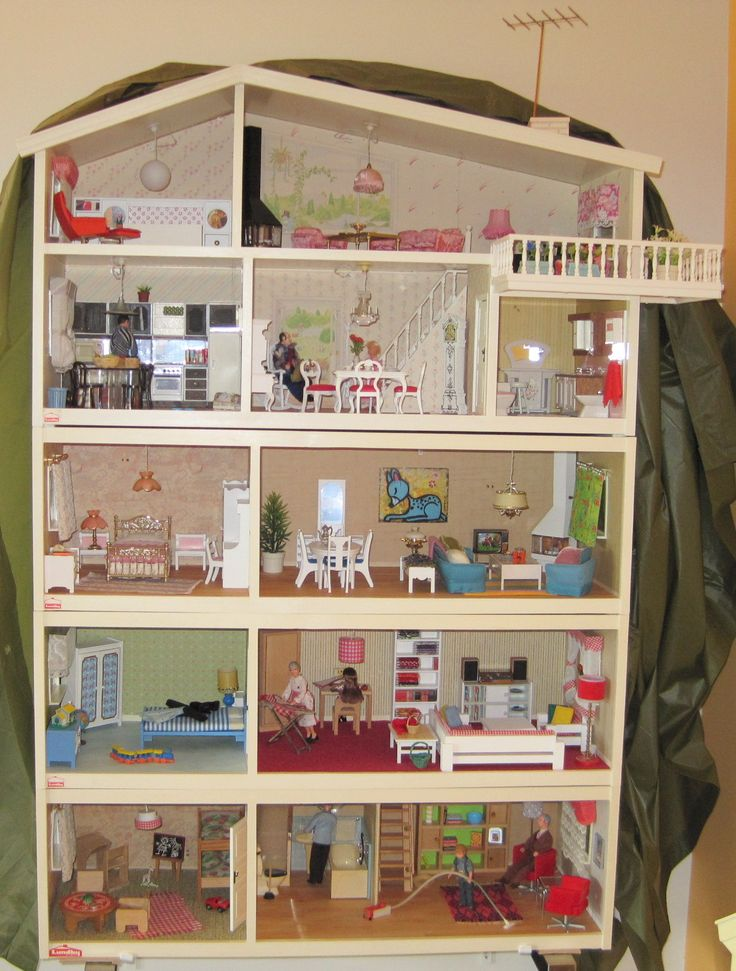 45 Best Lundby Images On Pinterest Dollhouses Dollhouse