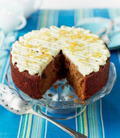 Paul Hollywood's Ultimate Carrot Cake. via deliciousmagazine.co.uk