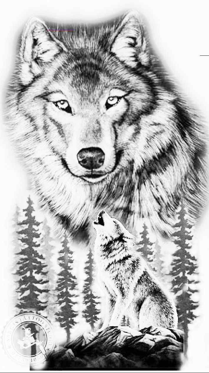 Tattoo Wolf 60 Inspirierende Ideen Fur Manner