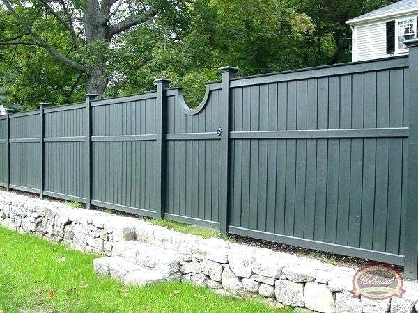 Wood Fence Paint Colors Best Grey Ideas On Small Garden Color