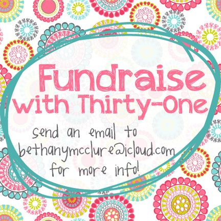 ::FUNDRAISER:: Do you have an organization you would like to hold a fundraiser for? Email me for more info on how your organization can hold a Thirty-One fundraiser! I would love to help out Relay for Life teams, baseball/softball/soccer teams, cheerleaders, church groups, and more! #ThirtyOne #Fundraise #Fundraiser #Sports #Team #Cheer #Cheerleader #Church #Kids #RelayForLife