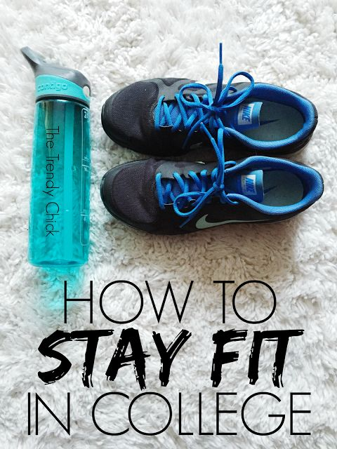 The Monogrammed Life: How To Stay Fit In College