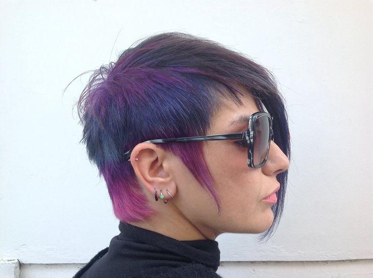 maria haircut haircolor