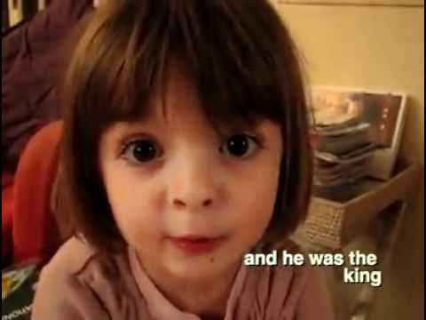 This little girl has quite of few videos on YouTube and tell wonderful stories…. not to mention you will fall in love with her. ( so will your students I think!)
