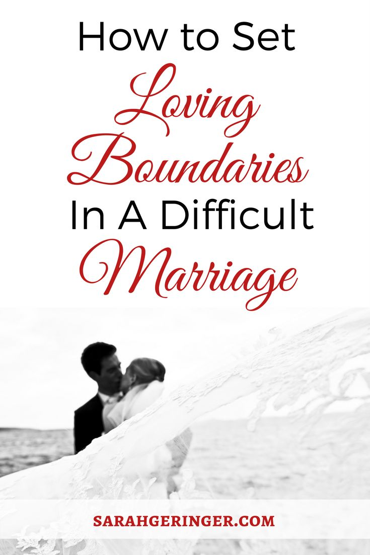 Learn how to set loving boundaries in a difficult marriage. #marriage #marriageproblems #marriageadvice #troubledmarriage