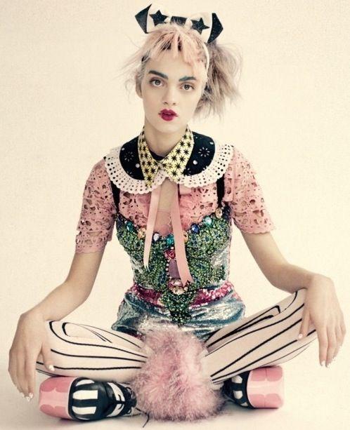 UK Vogue April 2012