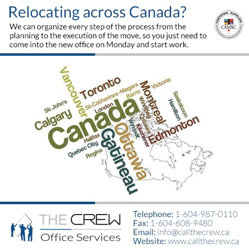 We are THE Largest Independent Office Services Provider in British Columbia. Please contact us or call 1-604-987-0110 to find out how we can assist you!
