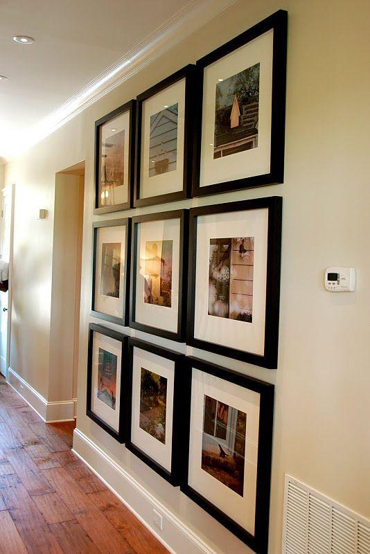 floor to ceiling grid frames