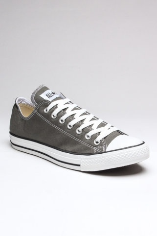 Converse Chuck Taylor All Star. I should probably buy a grey pair to add to my collection!