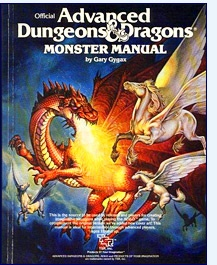 Advanced Dungeons and Dragons 1ed Monsters Handbook