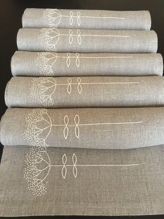 Best 20 manteles bordados a mano ideas on pinterest - Manteles de lino ...