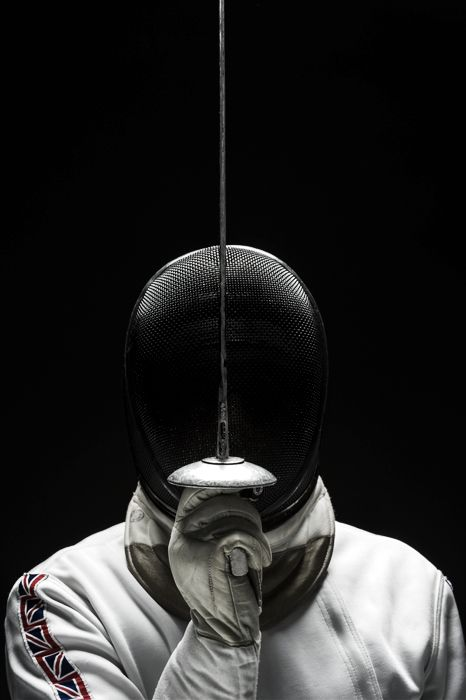 'The fencer' by James Abbott - Photography, Digital Retouching, Journalism from United Kingdom