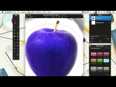 How to Make Selections With Pixelmator