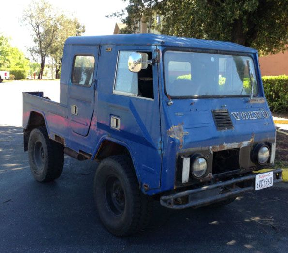 Very Rare 1970 Volvo C202 Valp Crew Cab 4X4. Little brother of the C203. Only 10 or less were made in this configuration! So cool!