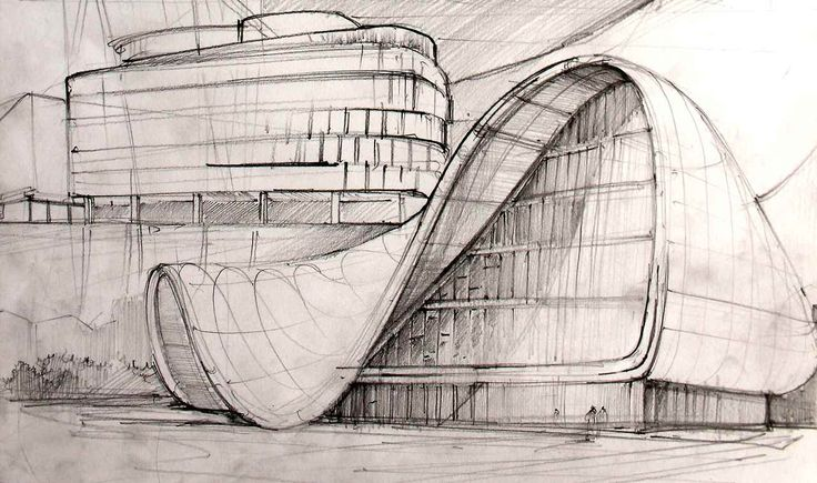 Zaha Hadid Drawing Techniques Zaha Hadid - Pinned by...