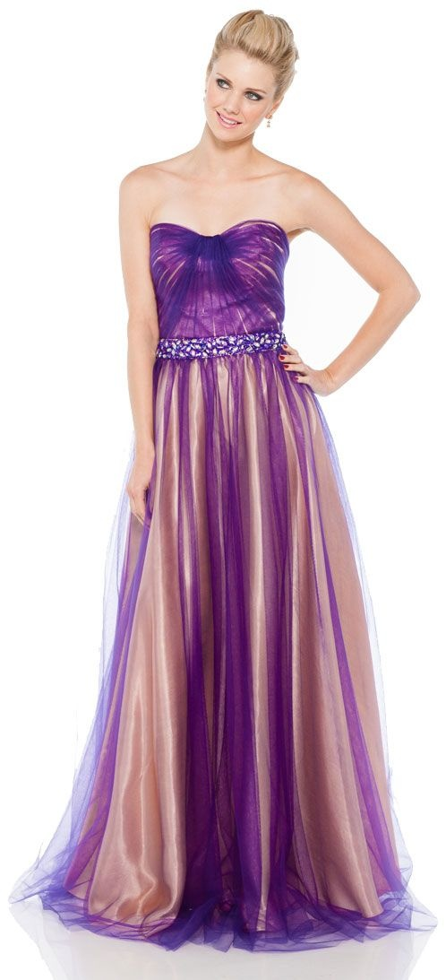 Image result for PURPLEGOLD GOWN