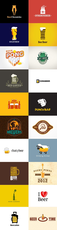 Logo-Inspiration: Bier