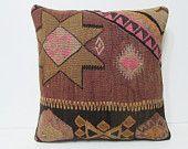 20x20 euro kilim pillow large sofa pillow turkish pillow cover sofa cushion boho chic pillow turkish fabric oversized couch pillow rug 26212