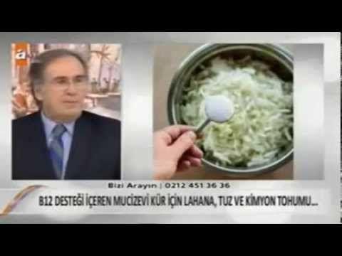 Prof  DR  ibrahim SARAÇOGLU ET yemeyenler için B12 vitaminin