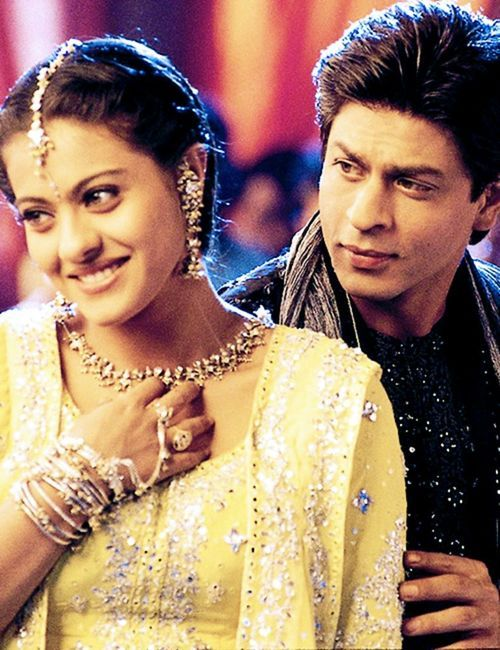Shahrukh Khan and Kajol - Kabhi Khushi Kabhie Gham (2001) love this movie!!!! ❤️❤️