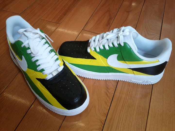 Jamaica Flag Nike AF1