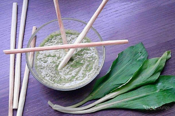 Medvehagymás mártogatós | Wild garlic recipes Szerző/Creator: Tillné Kiss Andrea
