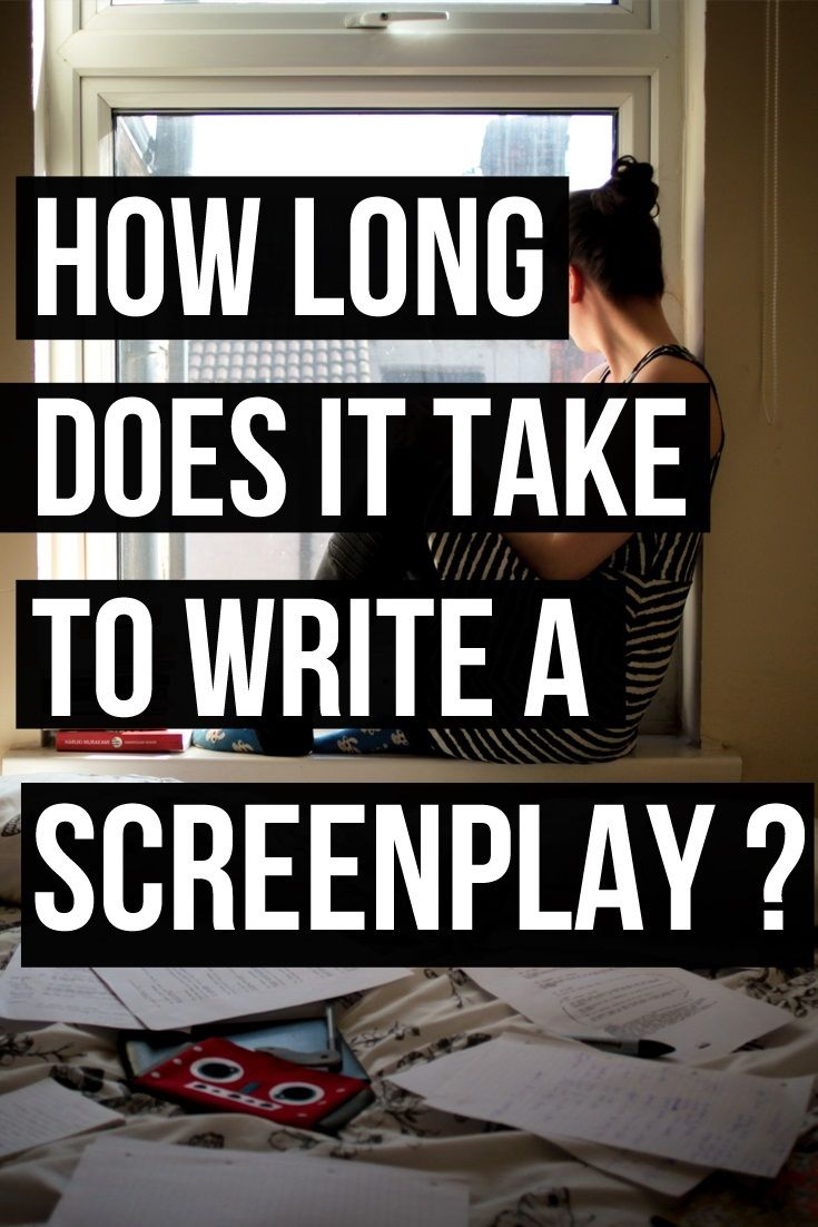 Feel like it's taking forever to write your film script? I had a look at some famous screenplays to see how long it took for their writers to finish them. 6 famous screenplays are included in this blog post. Read the post for more info | Filmmaker | Screenwriter