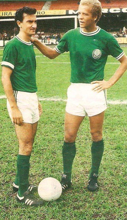 Dudu e Ademir da Guia (Palmeiras)