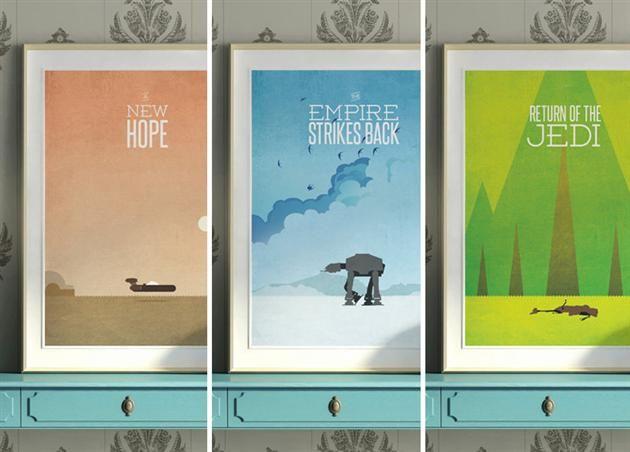 Star wars minimaliste