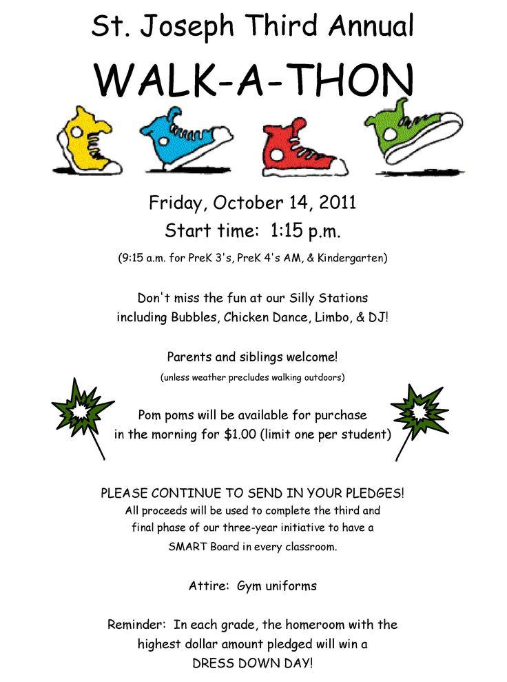 walkathon fundraisers