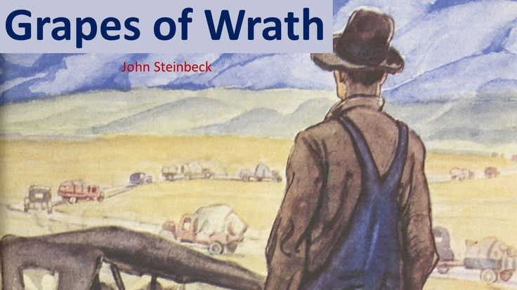 a view on the novel the grapes of wrath by john steinbeck John steinbeck's famous novel,  written by john steinbeck, the grapes of wrath is set in the depression-era oklahoma dust bowl and follows the  a view from.